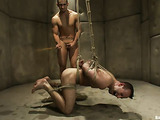 Horny gay hunk gets treated by his kinky doctor