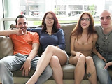 Two insanely hot couples explore eachother with tongues and fingers