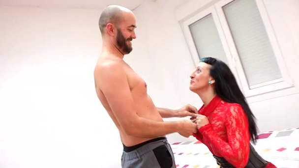 Sexy Mature Black-Haired Latina Gets Pounded By Her Co -2180