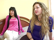two horny latinas experiment