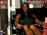Muscle queen talks about her love of role-playing and body care