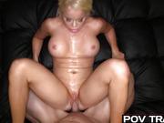huge titted blond slut