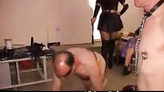 domminatrix humiliates pervy guys