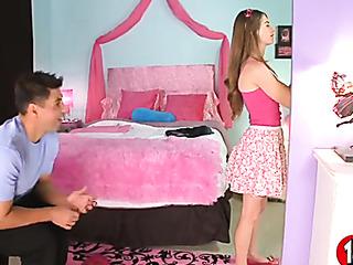 fun hoe pink top