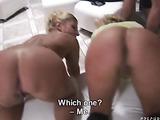 Wild mature sluts sucking dick and getting banged hard