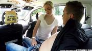 horny taxi driver fucks