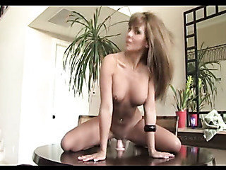 brown haired bombshell with