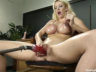 big boobed blonde whore