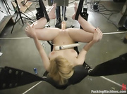 tied blonde honey gets