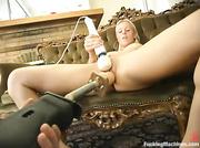 blonde honey gets her