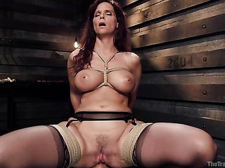busty redhead mature slut