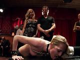 Alluring blonde ladies in bondage want some rough fucking