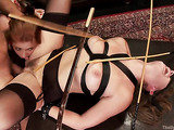 Two young darlings get toyed and fucked in this hot scene