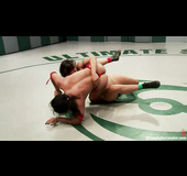 These wild brunettes are ready for nasty toying in the ring