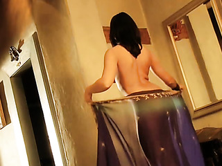 brunette indian darling displaying