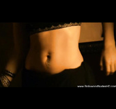Absolutely stunning Indian cutie doing a sexy belly dance