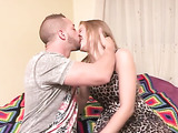 Perky amateur blonde gets horny being video taped and cums hard