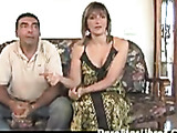 Older hispanic couple spices things up with first time video