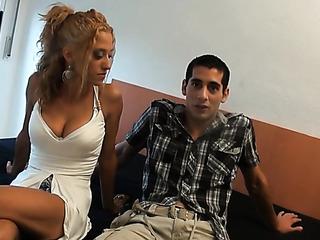 big tittied blonde white