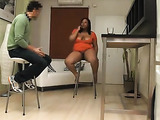 Chubby fat girl wearing no panties gets down and dirty for hidden camera