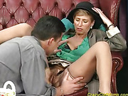 aroused granny gets her