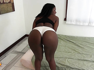 round ass and big