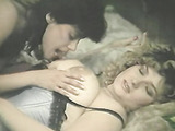 Exquisite blonde and brunette in black and blue corsets make each other's pussies wet