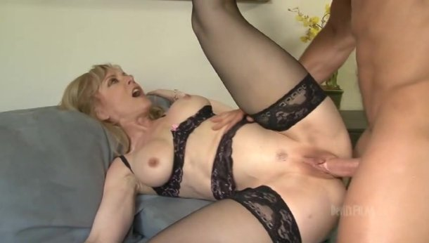 Blonde milf in lingerie fucking black cock Horny Blonde Milf In Black Lingerie Gets Her Pussy Fucked By A Huge Cock Porn Video At Xxx Dessert Tube