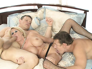 blonde milf with enormous