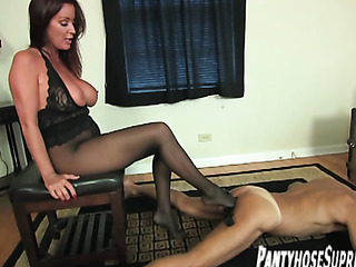 pantyhosed big breasted mistress