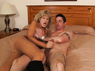 mature granny with big