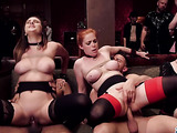 Glamour cock-sucking party in the vintage house with busty bitches